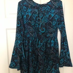 Bell Sleeved Dress